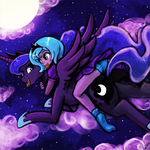 Luna's night flight with luna by luminaura