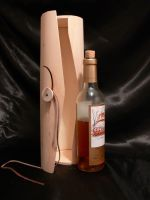 Wine box and bottle1 by Wicasa-stock