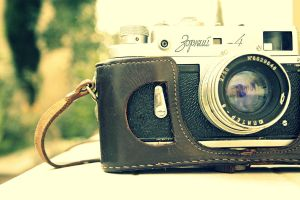 Old Camera by AzheenFuad
