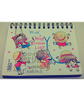 HAPPY BIRTHDAY MONKEY D LUFFY by SudiLin