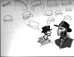 Top Hat studies and hat switch by BeetheGatekeeper