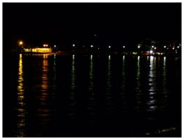 lights in wet darkness by siralbus