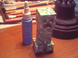 Creeper Papercraft by Sakura-Courage-Solo