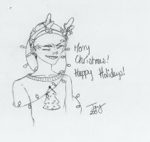 Happy Holidays! -Love, Your Neighborhood Goofball by CorporalCornbread