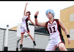 Kuroko no Basket - team up by NanjoKoji