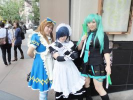 Pretty Ladies of PAX Prime by Indigoth