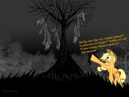 My Little Pony - Who gonna work? They all dead! by Sermann