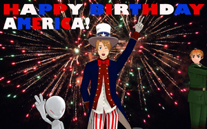 Happy Birthday America! by Shake666Productions