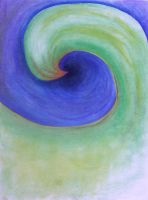 Green Spin by paintedfingers