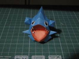 Chibi Gible Papercraft by bslirabsl