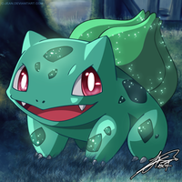 #001 - Bulbasaur by C-Jean