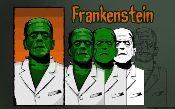 Frankenstein Progress by RussianPunx