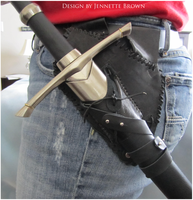 Medieval Sword Holster by sugarpoultry