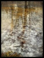 iPhoneography, Snow Melt III by Gerald-Bostock