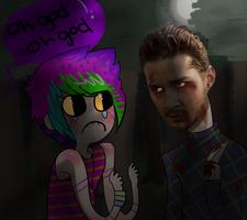 ACTUAL CANNIBAL SHIA LEBEOUF by Fancy-Tramp