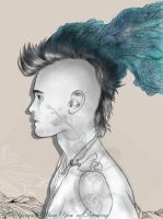 Jared Leto portrait by BeYourself-art