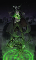 Necromancer by kevintheradioguy