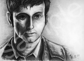 The Tenth Doctor by Lipizzaner-Kgirl