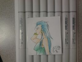 Small Copic Sketch by Streak2005