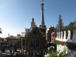 Gaudi Gingerbread House by eillahwolf