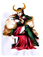 Lady Loki by incaseyouart