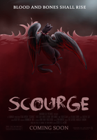 'Scourge' Movie Poster by TigerMoonCat