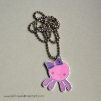 Female Octopus Necklace by Keito-San