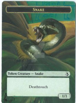 2017 Snake Token for Tyler Jacobson by munna-chan78