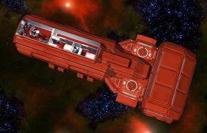 Wedge Freighter 08 by MADMANMIKE