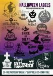 20+ Halloween Logo, Label Brushes Vol. 2 by fiftyfivepixels