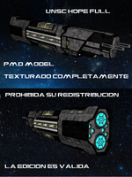 Unsc Crucero  clase asalto Hope Full + DL by jesuuss