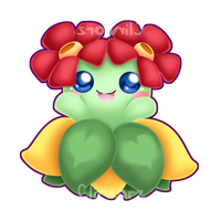 Bellossom v2 by Clinkorz