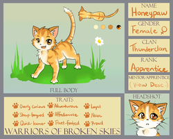 WoBS: Honeypaw of Thunderclan by Eeveelutions95