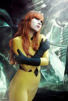 Crystal - Inhumans - Marvel Comics by WhiteLemon
