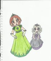 Queen Louise and Princess Koala by starflash111