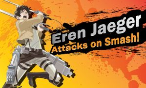 Eren Jaeger Attacks on Smash by TRice01