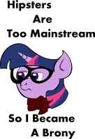 Hipster Twilight (With proper grammar) by lordcurly972