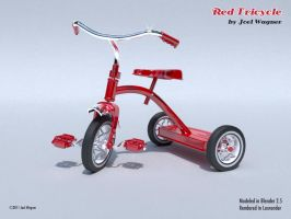 Red Tricycle by roofoo