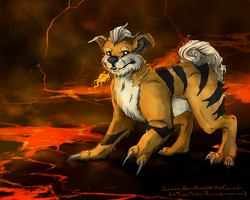 Growlithe by Simply-Psycho
