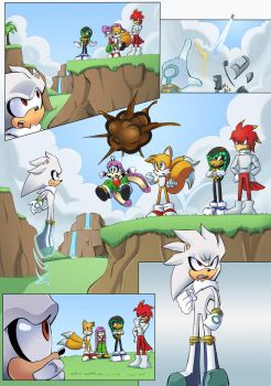 Tails: Silver Landing - Page 2 by shamethedawg