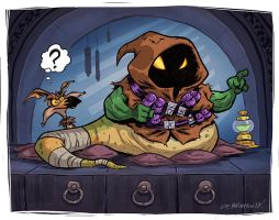 Jawa The Hutt by OtisFrampton