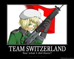 Team Switzerland xD by HaleyHorrorshow