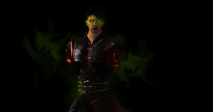 Unmasked Ermac by ScareMeBeautiful