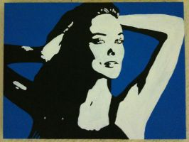 Pop Art Olivia Wilde by LeyuArt