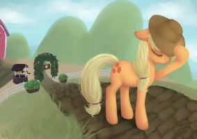 Applejack by StrawberryNinilein