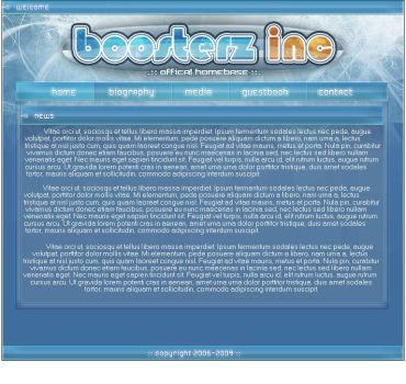 Boosterz-Inc webdesign by bryceology