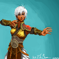 Female Monk (Diablo 3) by edsun