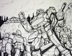 Decepticons Scramble! by Optimus8404
