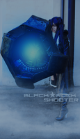 BANG. - Black Rock Shooter Cosplay by Hainecch
