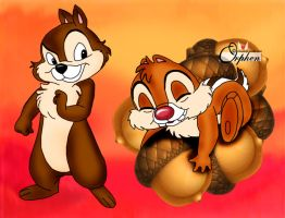 Chip n Dale by Orphen5
